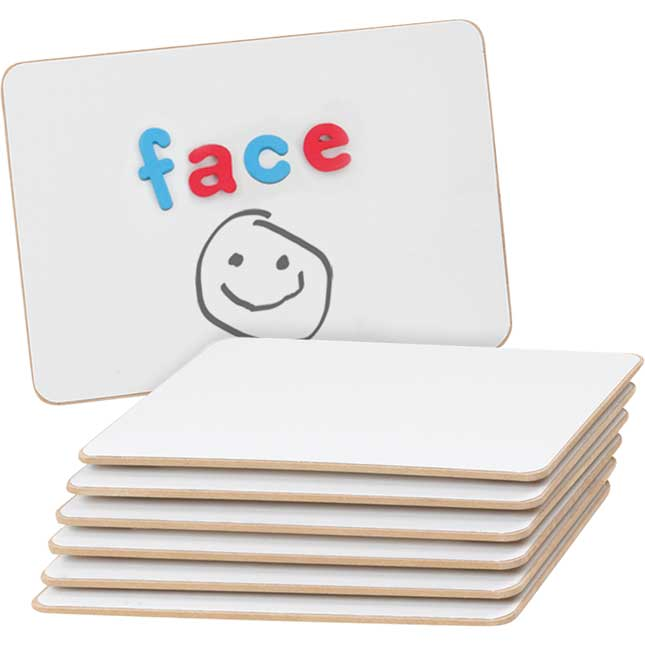 Magnetic Dry Erase Write Again® Boards - 6