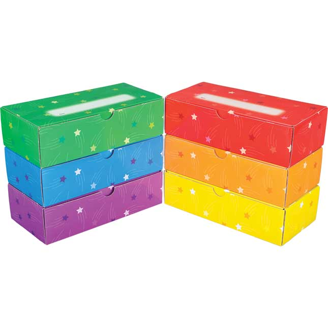 Student Pencil Boxes - 6 Colors