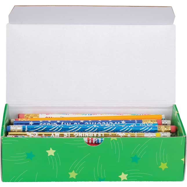 Student Pencil Boxes - 6 Colors