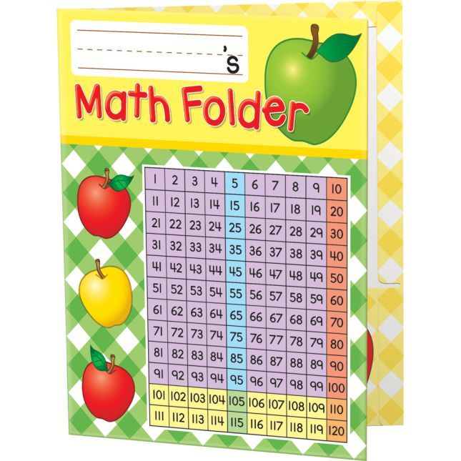 Basic Math Skills 2-Pocket Folders