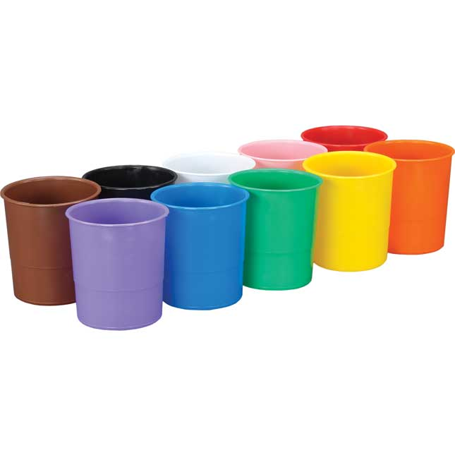 Ten-Color Plastic Cups - 10 cups_1