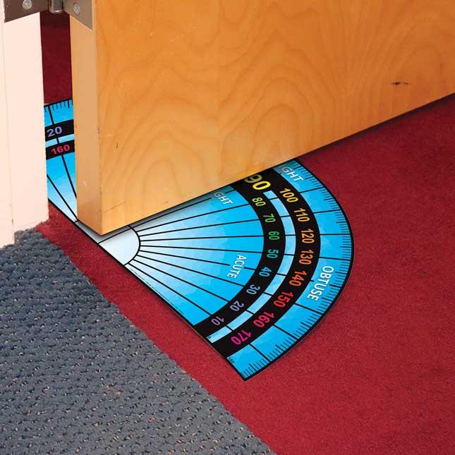EZ Stick™ Floor Protractor - 1 floor decal