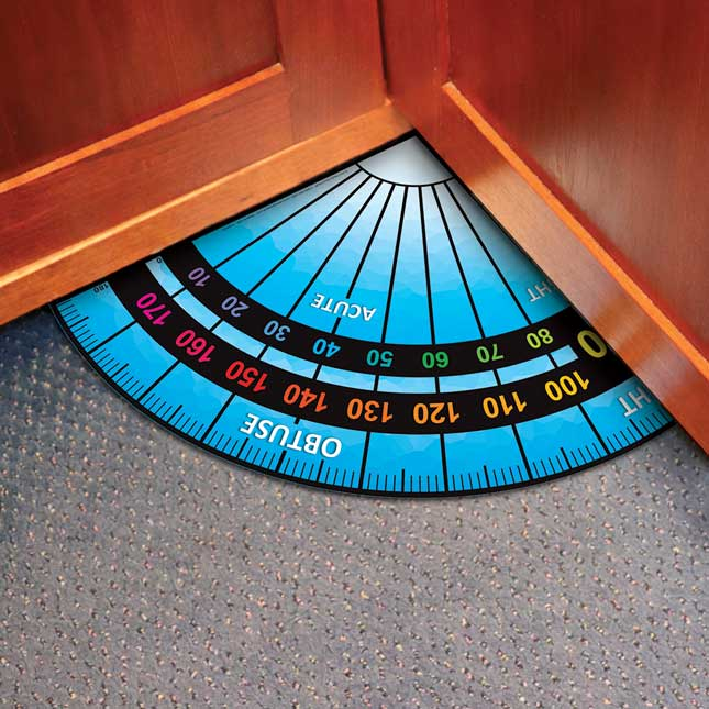 EZ Stick™ Floor Protractor
