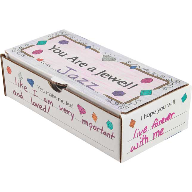 Ready-To-Decorate® You Are A Jewel! Boxes