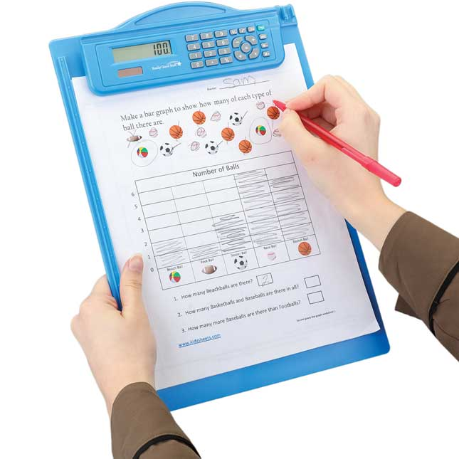 Classroom Clipboard With Calculator