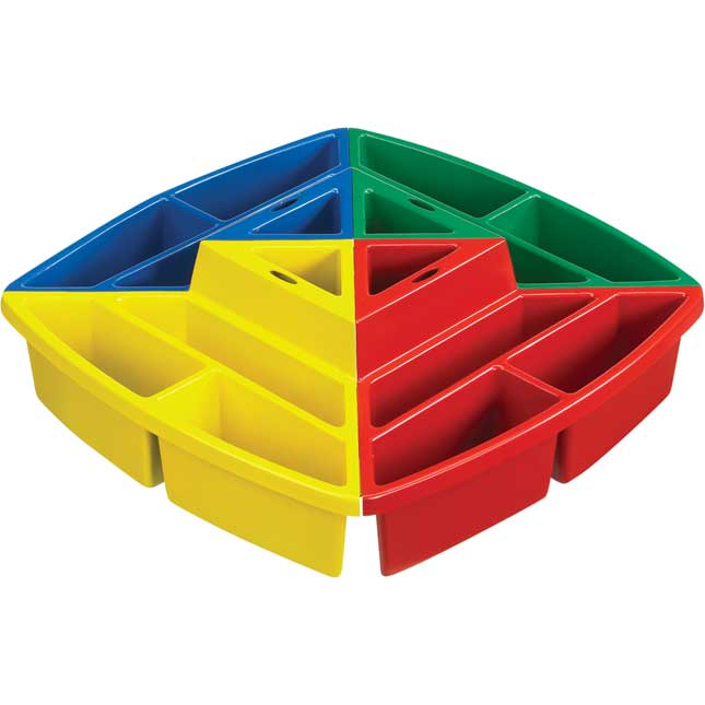 Snap 'N' Go Supply Station™ - Primary Colors - 1 tray