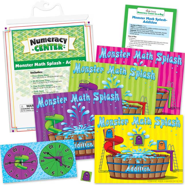 Math Skills Numeracy Centers™ - Grades K-3