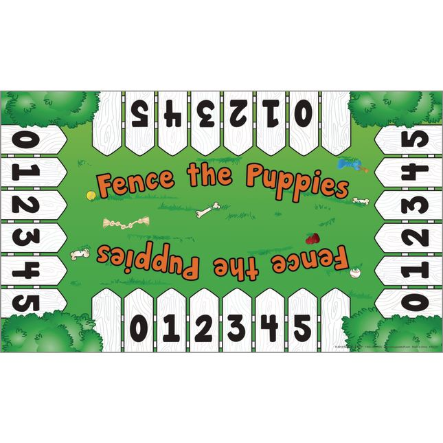 Fence The Puppies - Subitizing Numeracy Center™