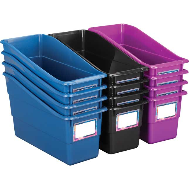Galaxy Durable Book And Binder Bins