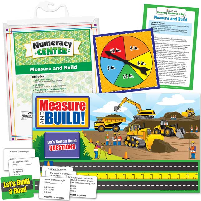 Measure And Build Numeracy Center™ - 1 numeracy center