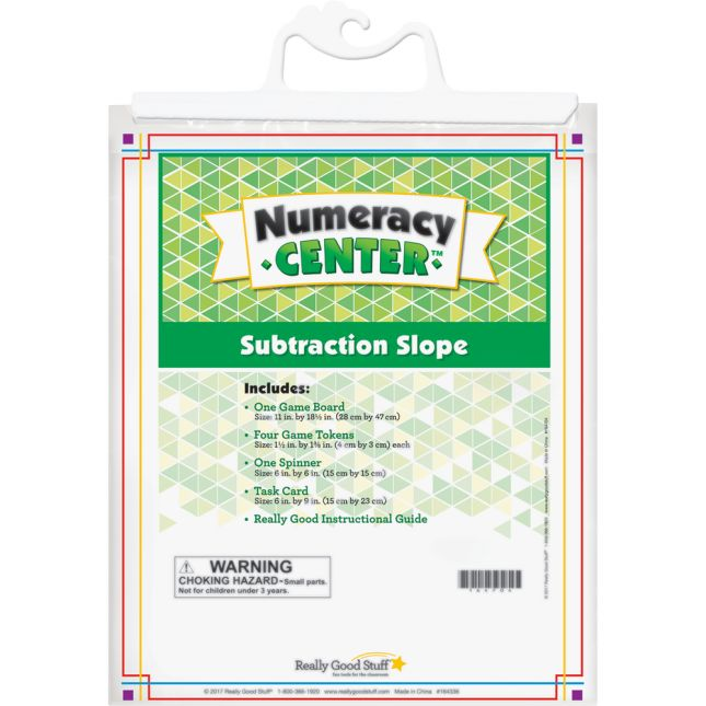 Subtraction Slope Numeracy Center™ - 1 numeracy center