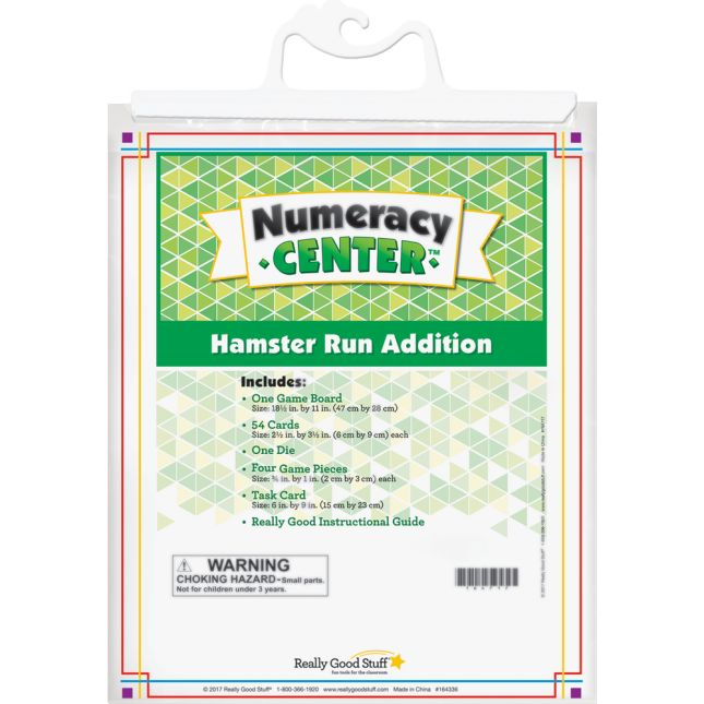 Hamster Run Addition Numeracy Center™