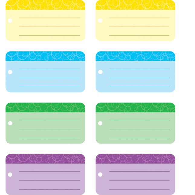 Identification Tags  24 Pack