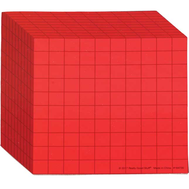 Student Manipulatives Pack - Base-10 Blocks