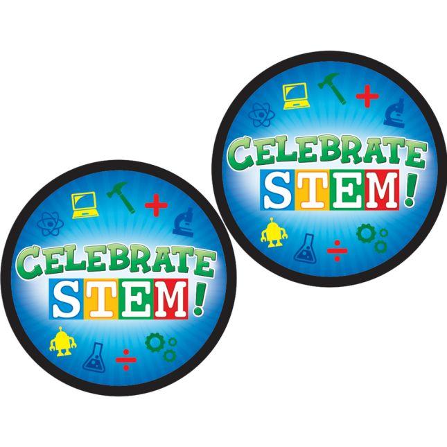 Celebrate STEM! Stickers - 36 stickers