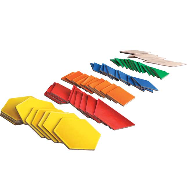 Teacher And Student Manipulatives Kit - Pattern Blocks