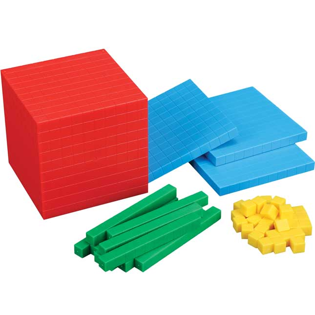 Classroom Manipulatives Kit - Base-10 Blocks