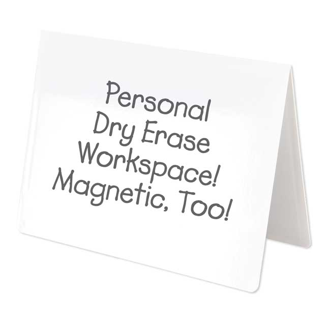 Folding Magnetic Dry Erase Activity Boards - Blank