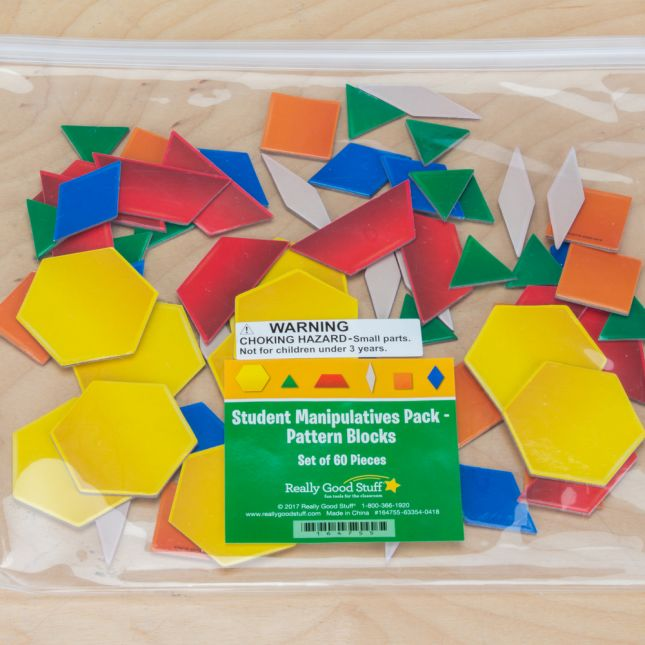 Student Manipulatives Pack - Pattern Blocks