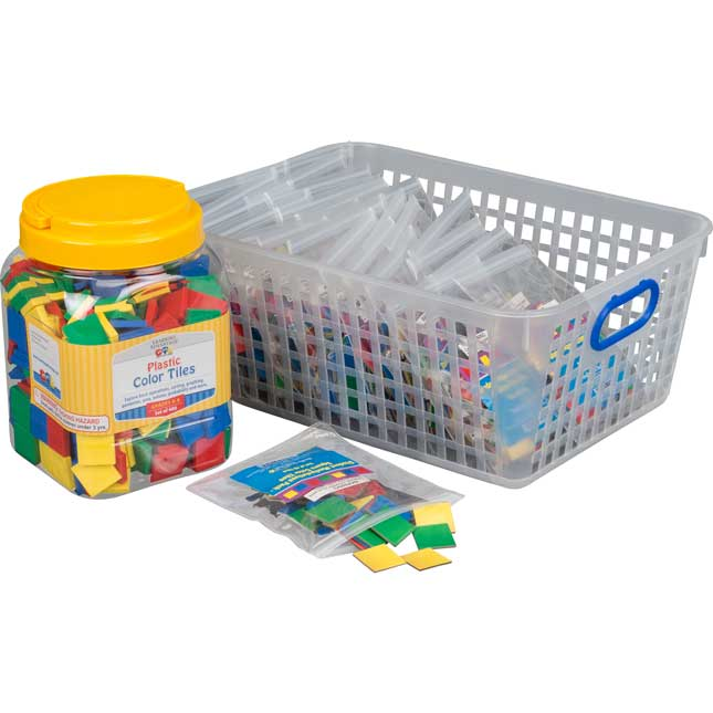 Classroom Manipulatives Kit - Square Color Tiles