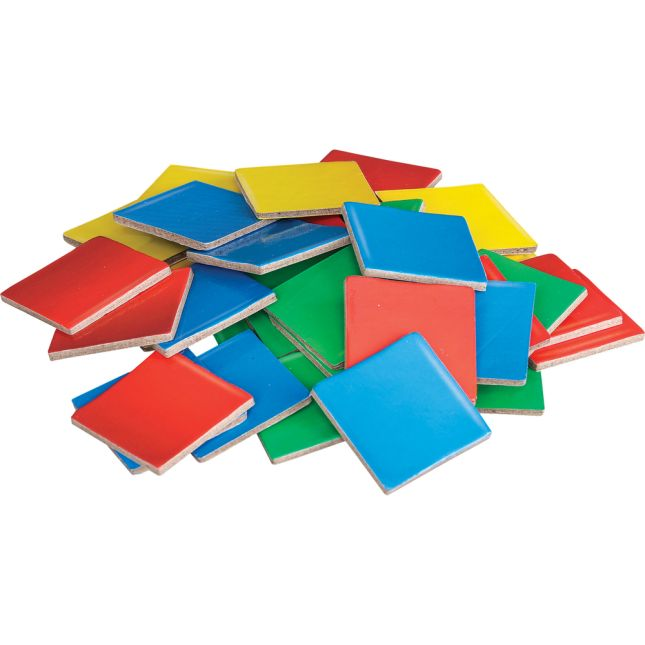 Student Manipulatives Pack - Square Color Tiles