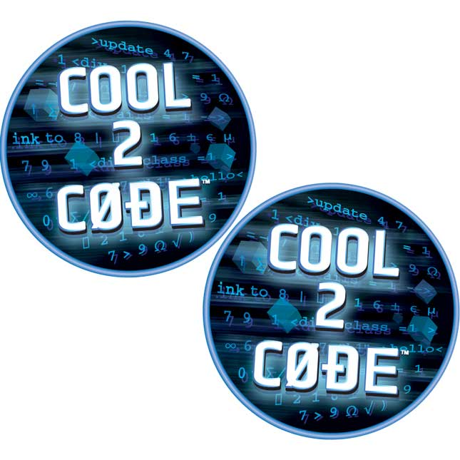 Cool 2 Code™ Stickers