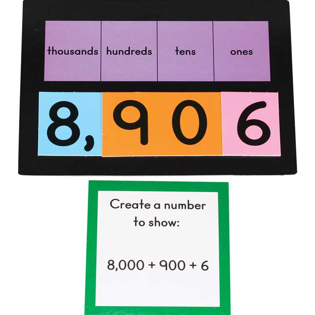 Layer-It™ Place Value Learning Activity - Grades K-2