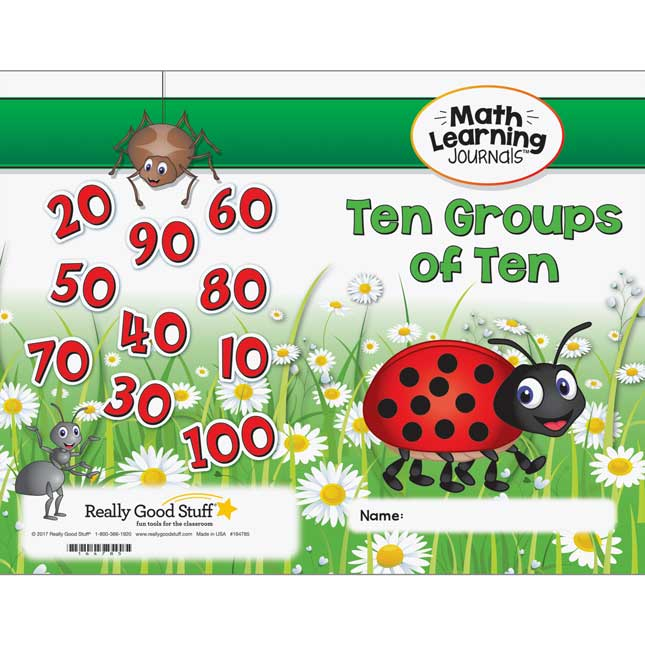 Math Learning Journals™ - Ten Groups Of Ten