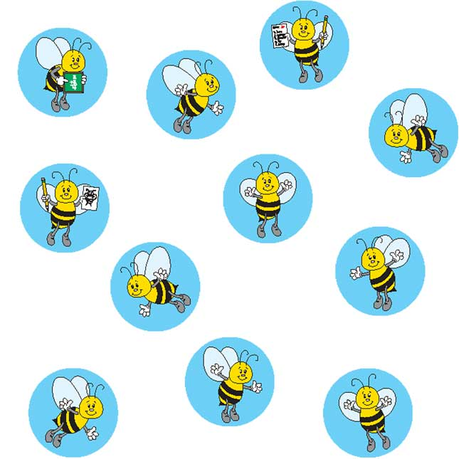 Bees Mini Incentive Charts And Stickers Kit