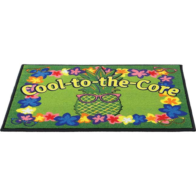 Cool-To-The-Core Welcome Mat