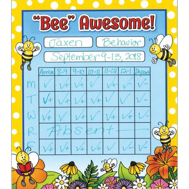 Bees Mini Incentive Charts