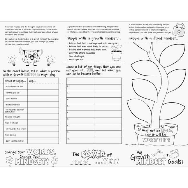 Build Your Own Flip Books™ - Growth Mindset