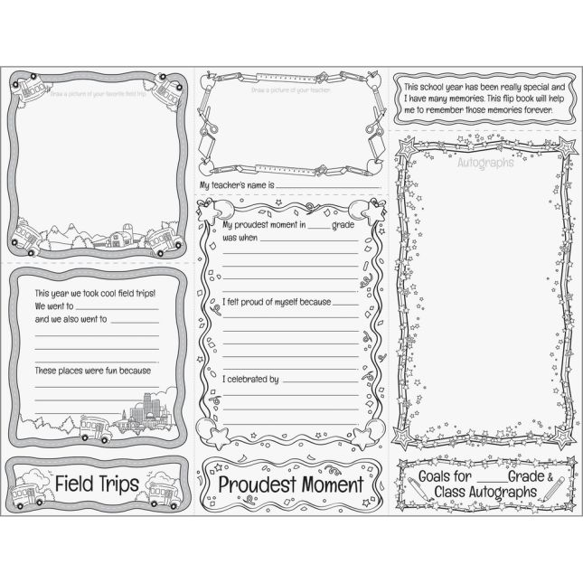 Build-Your-Own Flip Book™ - End-Of-Year Memory Books - 24 flip books