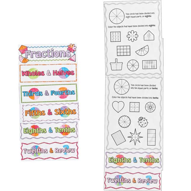 Build-Your-Own Flip Books™ - Fractions