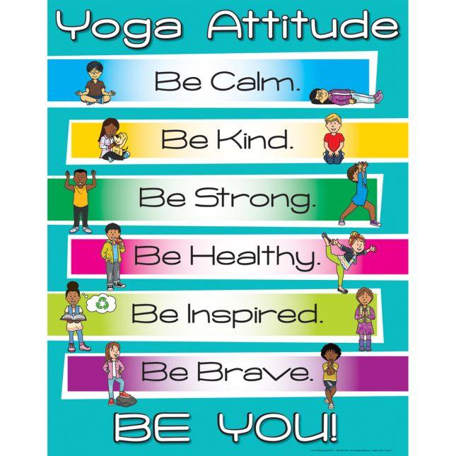 Yoga Attitude Poster