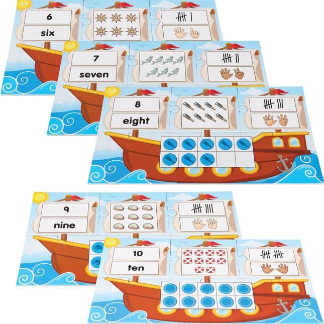 Subi-Boat Puzzles