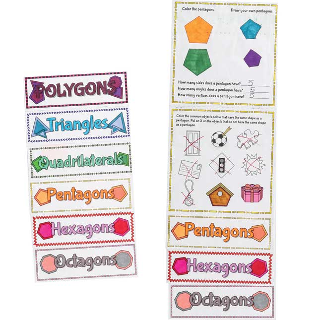 Build-Your-Own Flip Books™ - Polygons