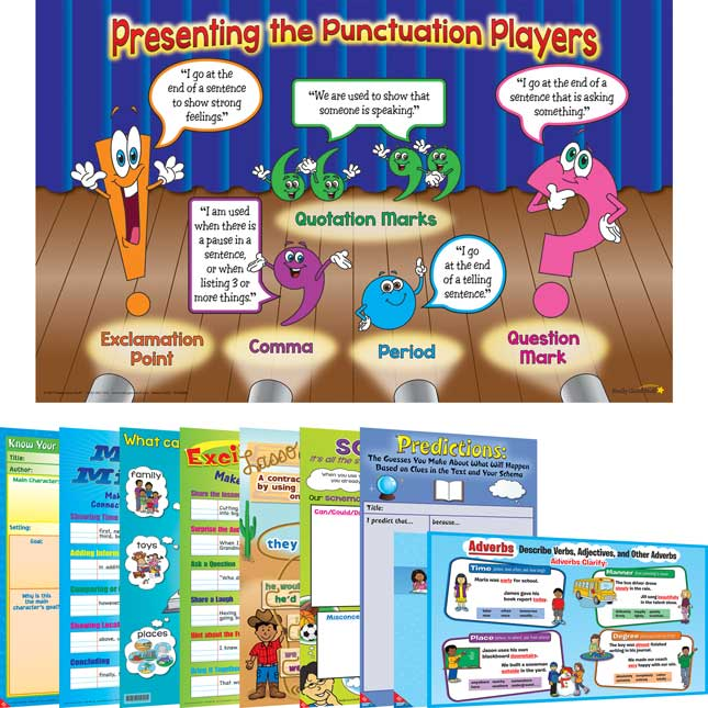 Space-Saver Poster Pack - Primary ELA
