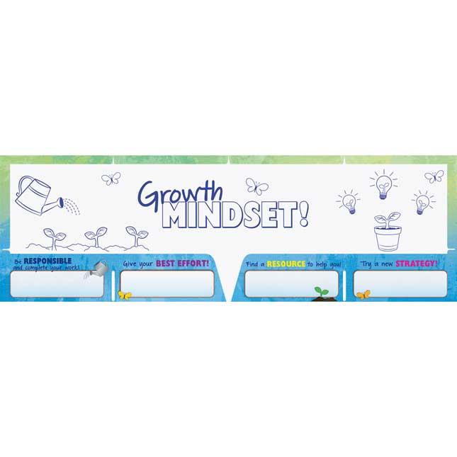 Growth Mindset Homework 4-Pocket Folders