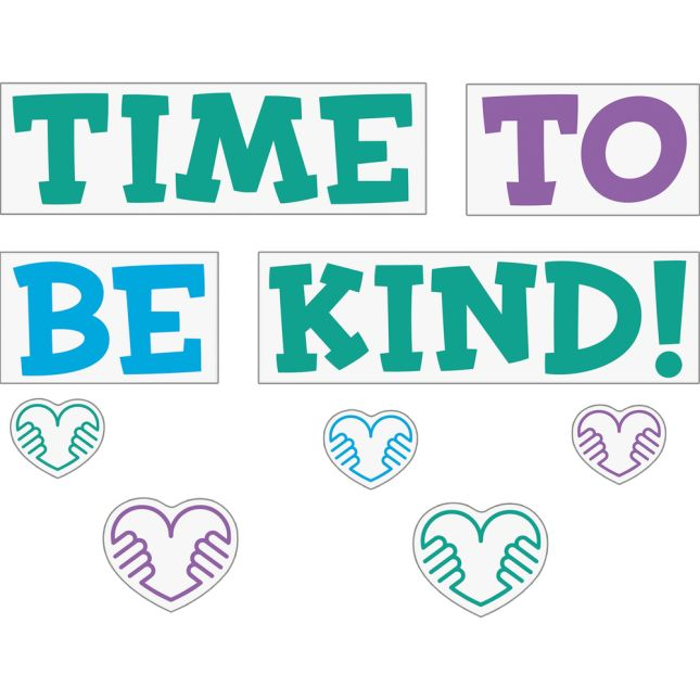 EZ Stick™ Time To Be Kind Wall Stickers - 16 decals