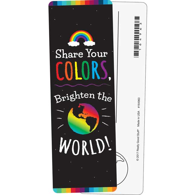 Share Your Colors! Bookmarks