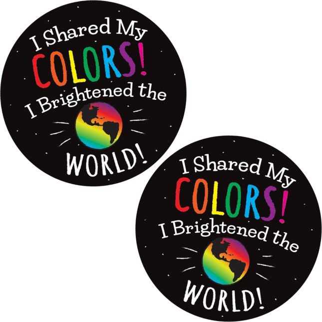 Share Your Colors! Stickers