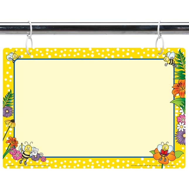 Bees Dry 2-Sided Erase Board