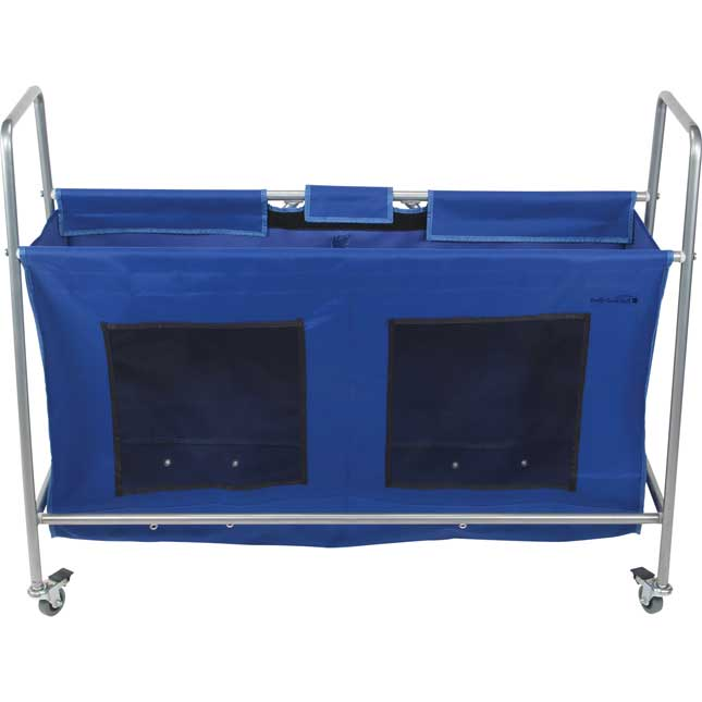 Mobile Storage Rack With Utility Bag