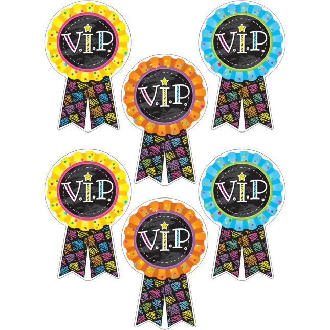 V.I.P. Sticker Badges - 36 stickers
