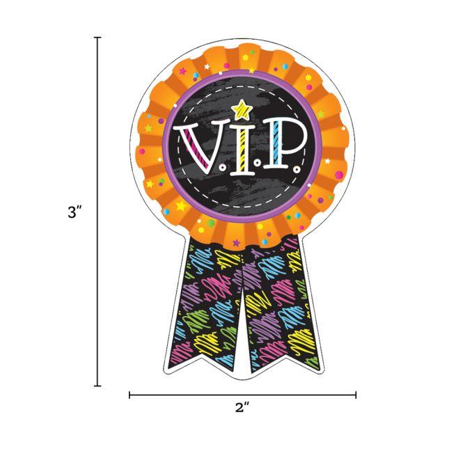 V.I.P. Sticker Badges