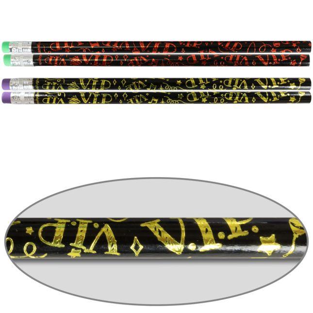 V.I.P. Pencils - 12 pencils