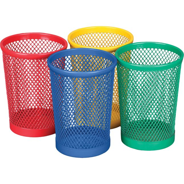 Small Mesh Cups - 4 Colors