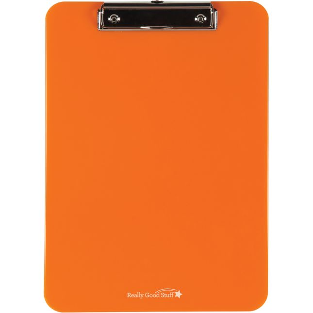 Group-Color Plastic Clipboards - Single Color
