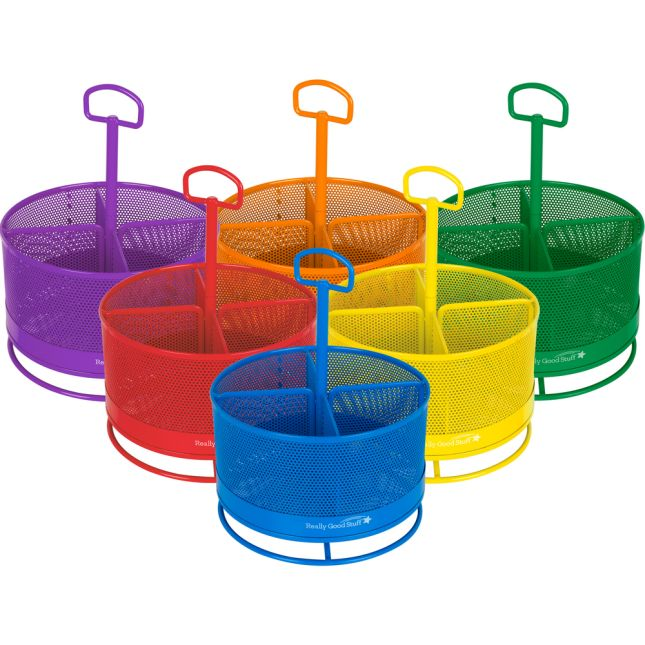 Revolving Supply Organizers - 6 Colors